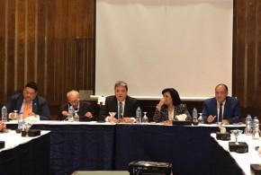خبر صحفي .. في افتتاح فعاليات مائدة الخبراء حول تحديث التشريعات العقابية في مص