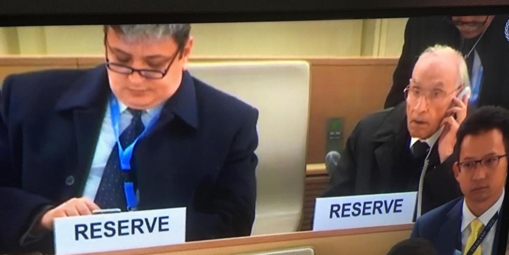 خبر صحفي … وفد المنظمة الي الأمم المتحدة بجنيف يتابع عرض ومناقشة تقرير العراق  بموجب آلية الاستعراض الدوري الشامل لحقوق الانسان