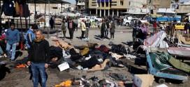 العراق .. المنظمة تدين الاعتداءات الإرهابية في سوق بغداد