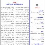 نشرة المنظمة العربية لحقوق الإنسان