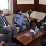 فايق يبحث مع رئيس الوطني الليبي لحقوق الإنسان التنسيق في المحافل الإقليمية والدولية