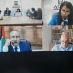 """فعاليات الندة الافتراضية .. """"دربان + ٢٠ .. القضية الفلسطينية نموذجا"""""""
